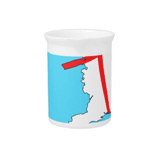 England Football England Kicks For Goal! Beverage Pitcher