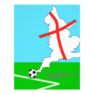 England Football England Kicks For Goal! Letterhead