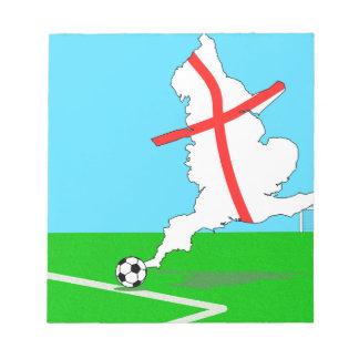 England Football England Kicks For Goal! Notepad