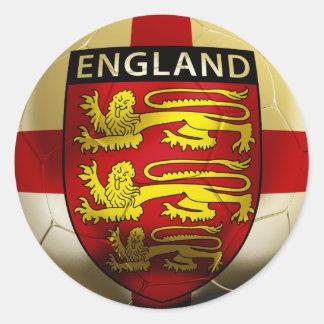 England Football Classic Round Sticker
