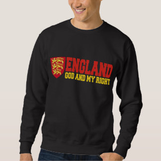 England: God And My Right Pullover Sweatshirt