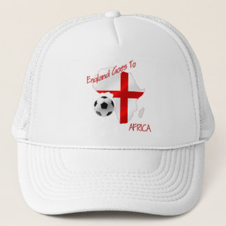 England Goes to Africa St Georges Football flag Trucker Hat