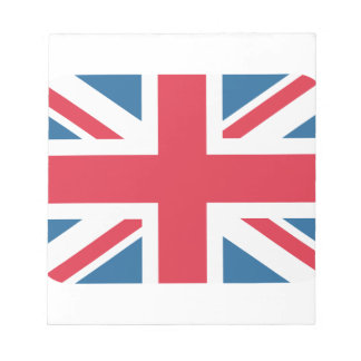 England - Great Britain flag from Twitter emojis Note Pad