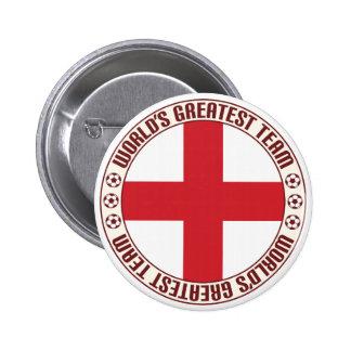 England Greatest Team 2 Inch Round Button