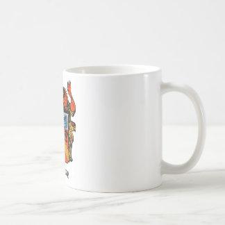 ENGLAND GREENAWAY COAT OF ARMS CLASSIC WHITE COFFEE MUG