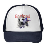 England Grunge football gifts for three lions fans Trucker Hat