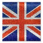 England Grunge Style Flag Photo