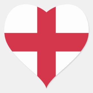 england heart sticker