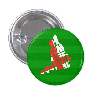 England Home of Football 1 Inch Round Button