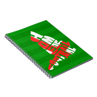 England Home of Football Notebook