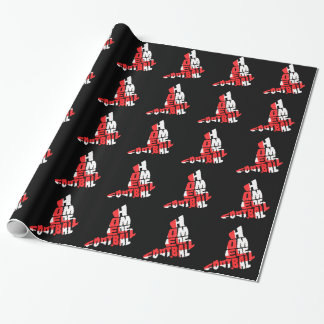 England Home of Football Gift Wrapping Paper