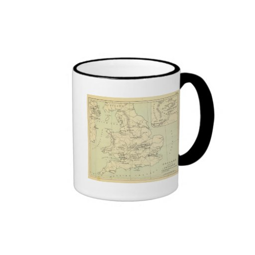 England, Ireland Ringer Coffee Mug