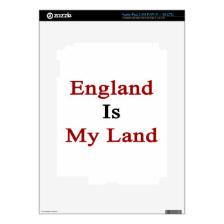 England Is My Land iPad 3 Decals