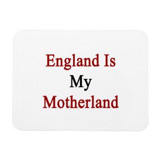 England Is My Motherland Rectangular Photo Magnet