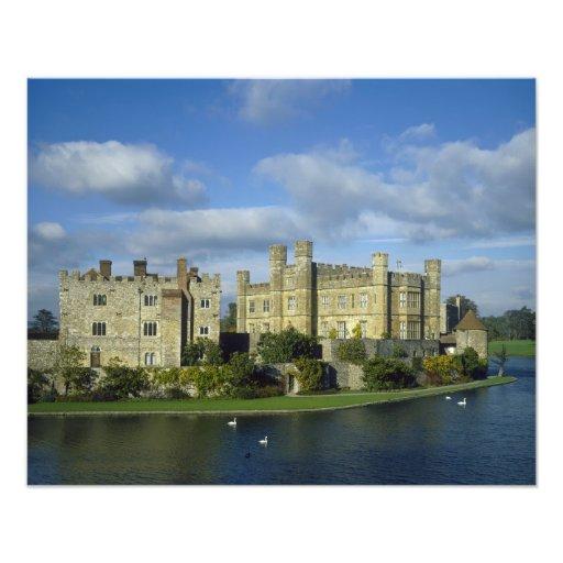 England, Kent, Leeds Castle Art Photo