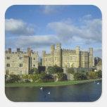 England, Kent, Leeds Castle Square Sticker