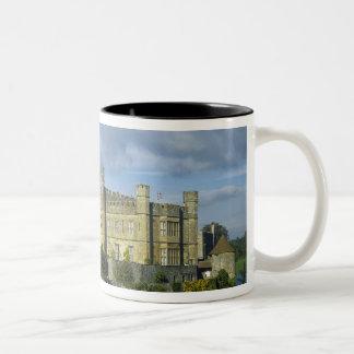 England, Kent, Leeds Castle Two-Tone Coffee Mug