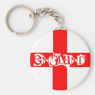 England Keyring Key Chain