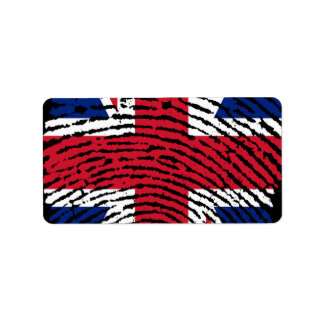 England Address Label