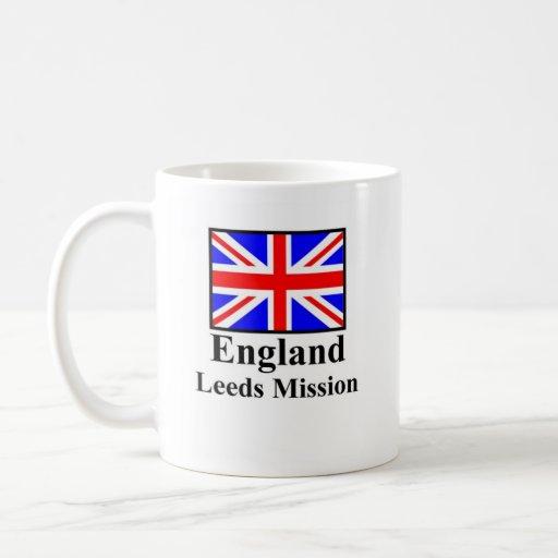 England Leeds Mission Drinkware Classic White Coffee Mug