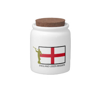 ENGLAND LEEDS MISSION LDS CTR CANDY JAR