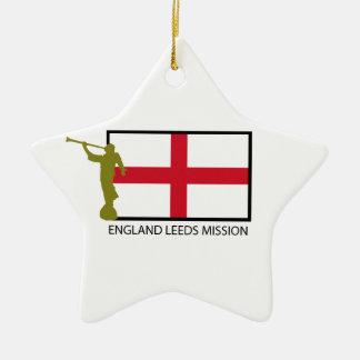 ENGLAND LEEDS MISSION LDS CTR CERAMIC ORNAMENT
