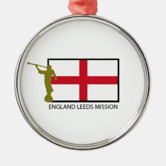 ENGLAND LEEDS MISSION LDS CTR METAL ORNAMENT