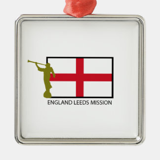 ENGLAND LEEDS MISSION LDS CTR METAL ORNAMENT
