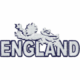 England Lion Embroidered mens polo