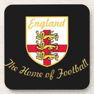 England, Lions, The Home of Football (Soccer)Badge Coaster