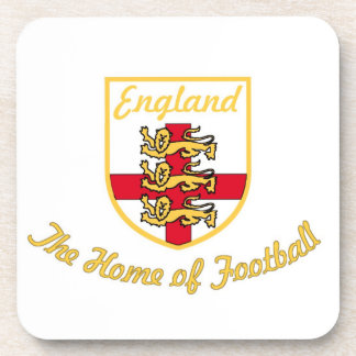 England,Lions,The Home of Football (Soccer)Badge-w Beverage Coaster