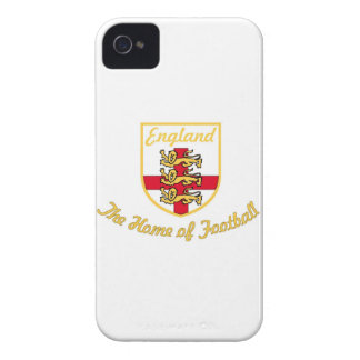 England Lions The Home of Football Soccer Badge-w Case-Mate iPhone 4 Cases
