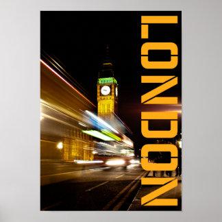 England London Big Ben Poster