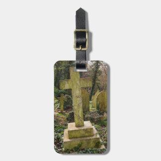 England, London, Highgate Cemetery, gravesite Bag Tag