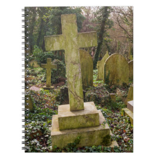 England, London, Highgate Cemetery, gravesite Note Books