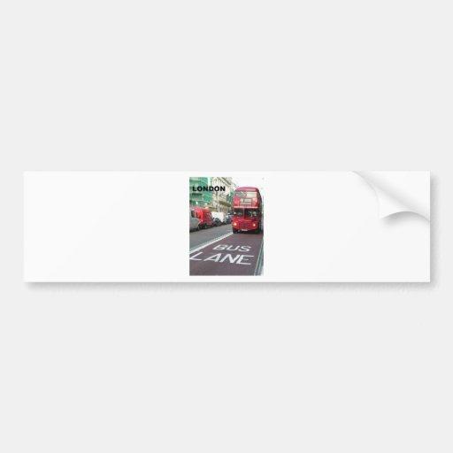 England London RedBus (new) (St.K) Bumper Sticker