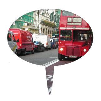 England London RedBus (new) (St.K) Cake Picks