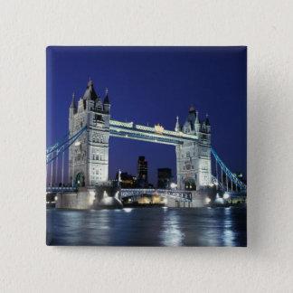 England, London, Tower Bridge 3 Button