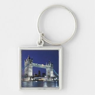 England, London, Tower Bridge 3 Keychain