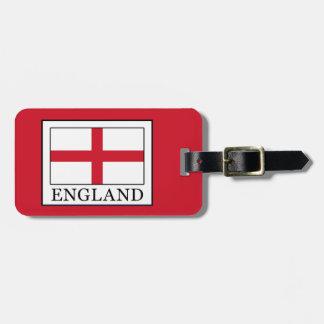 England Luggage Tag