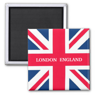 ENGLAND 2 INCH SQUARE MAGNET