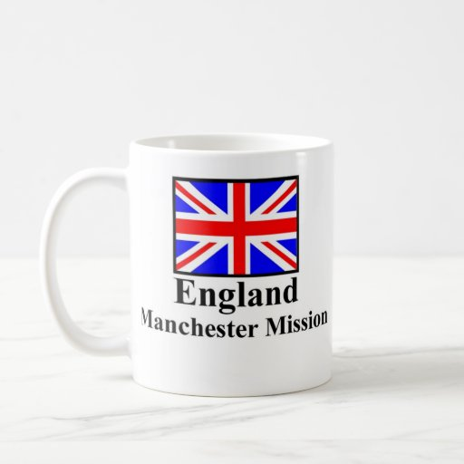 England Manchester Mission Drinkware Coffee Mugs
