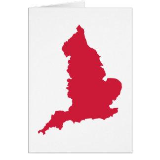 England map card
