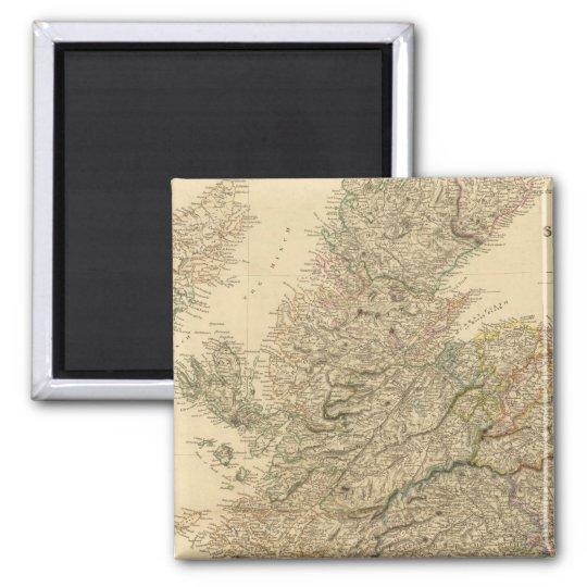 England Map Magnet