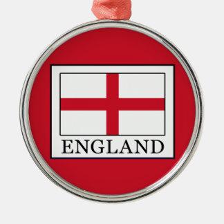 England Metal Ornament