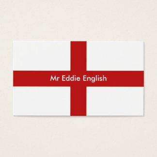 England, Mr Eddie English Business Card