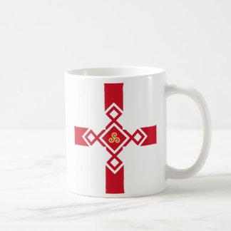 England Mug - Anglo-Celtic Cross