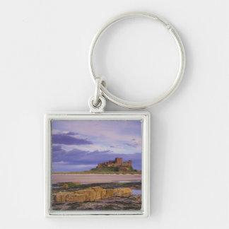 England, Northumberland, Bamburgh Castle Keychain
