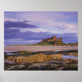 England, Northumberland, Bamburgh Castle Poster