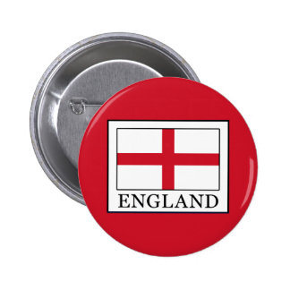 England Pinback Button